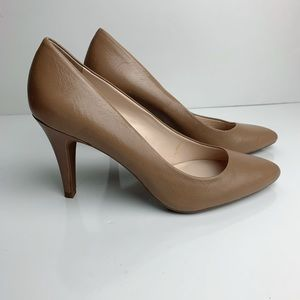 Franco Sarto Howie Pumps Tan Size 9 NWT